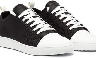 Ylati Sorrento Low Black Perf Leather
