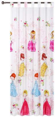 Princess Girl Tab Top Curtain Set