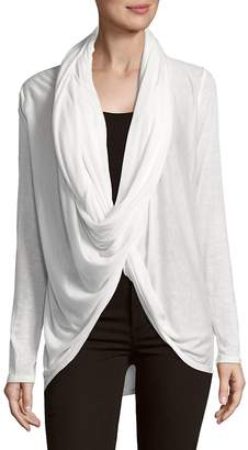 Alice + Olivia Women's Drape Wrap Sweater
