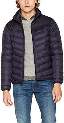 G Star Men's Attacc Down JKT Jacket, (Dk Naval Blue 8056)
