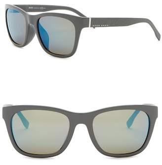 BOSS 56mm Square Sunglasses