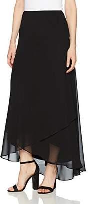 Alex Evenings Women's Long Chiffon Tulip Hem Skirt