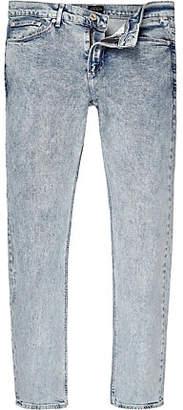 River Island Acid blue wash Sid skinny jeans