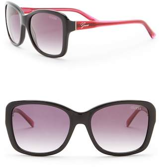GUESS 57mm Square Sunglasses