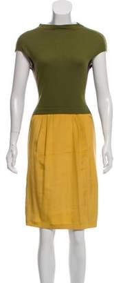 Philosophy di Alberta Ferretti Wool Midi Dress