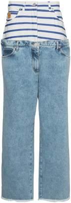 Natasha Zinko Double Waist Band Jeans