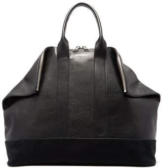 Alexander McQueen East West De Manta Leather Tote Bag - Mens - Black