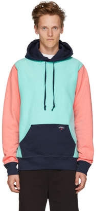 Noah NYC Multicolor Colorblock Hoodie