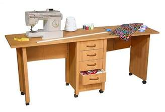 "Venture Horizon VHZ Office 70"" W Mobile Craft Double Desk"