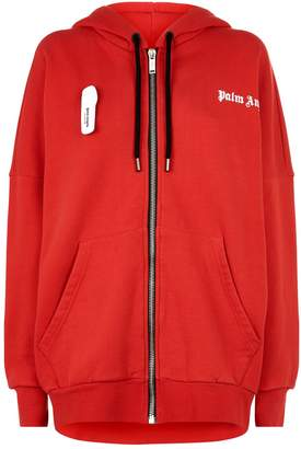 Palm Angels Security Tag Hoodie