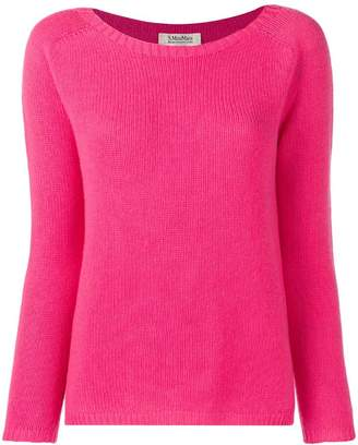 Max Mara 'S long-sleeve fitted sweater