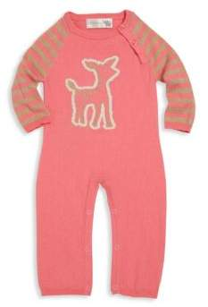 Lucky Jade Baby's Cashmere-Blend Intarsia Coverall