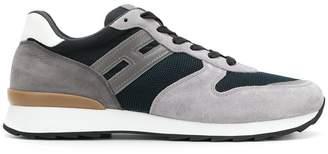 Hogan contrast panel running sneakers