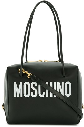 Moschino logo print crossbody bag