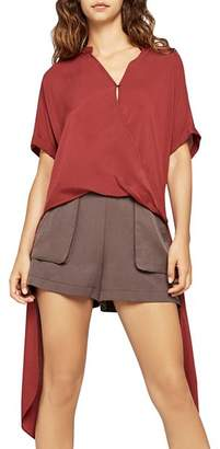 BCBGeneration High/Low Crossover Top