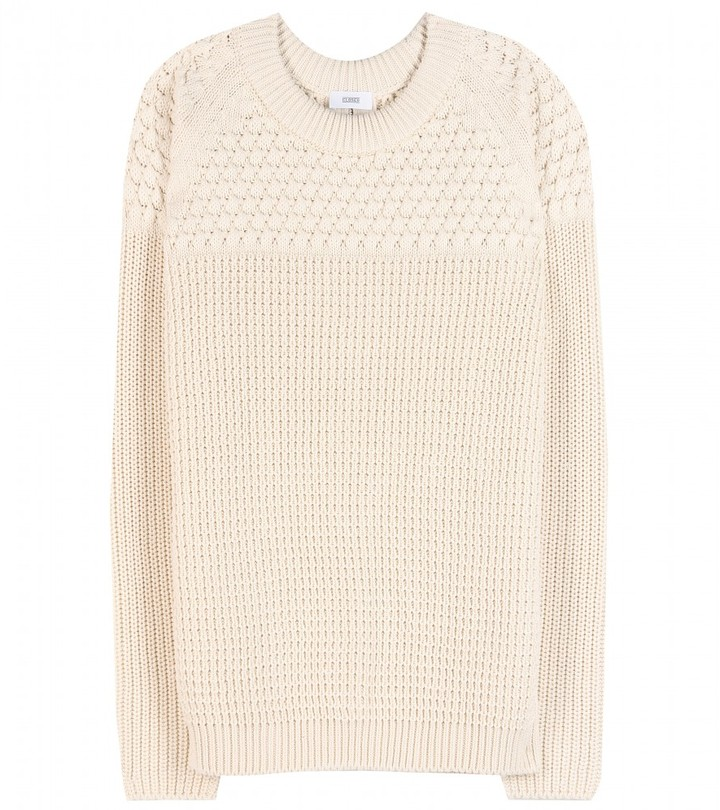 Closed Textured-cotton sweater