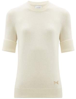 Barrie B Plaque Cashmere Sweater - Womens - Ivory