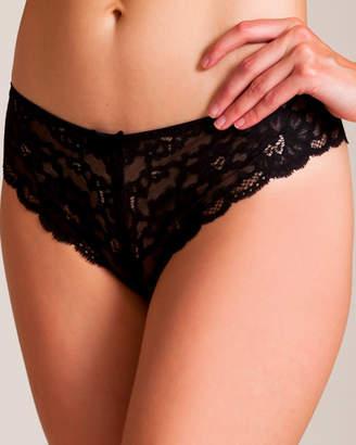 Fleur Du Mal Charlotte Lace Open Panty