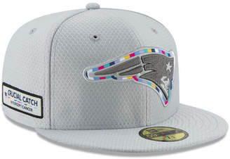New Era New England Patriots Crucial Catch 59FIFTY Fitted Cap