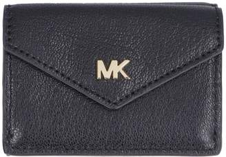 2d449754c3029e Michael Kors Money Pieces Small Flap-over Leather Wallet