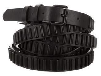 Haute Hippie Embellished Wrap-Around Belt Black Embellished Wrap-Around Belt