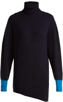 Sportmax Pontida Sweater - Womens - Navy