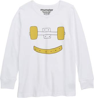 Munster Trucks Grin Long Sleeve T-Shirt