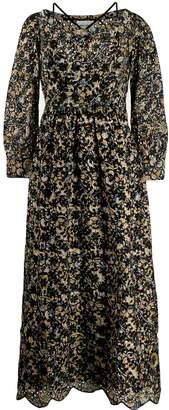 Antik Batik floral eyelet embroidered dress