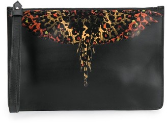 Marcelo Burlon County of Milan Leopard Wings clutch
