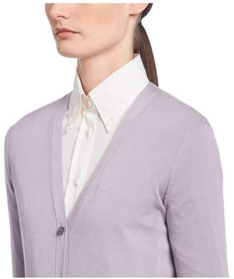 Prada Wool And Silk Cardigan