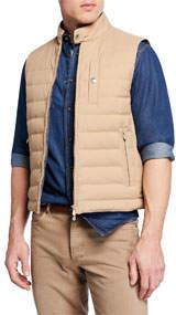 Men's Zip Down Vest Jacket