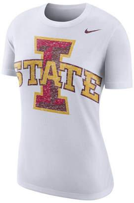 Nike Women's Iowa State Cyclones Triblend Logo Boyfriend T-Shirt