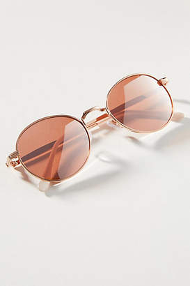 Anthropologie Jayne Rounded Sunglasses