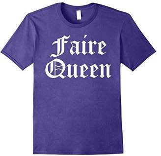 Faire Queen Ren Faire Medieval Couples T-Shirt