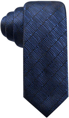 Alfani Men Epping Slim Textured Multi-Stripe Silk Tie