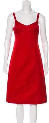 Michael Kors Sleeveless Midi Dress