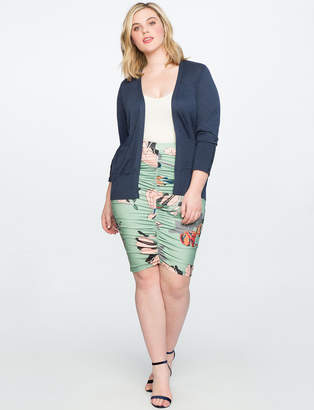 ELOQUII Ruched Miracle Skirt