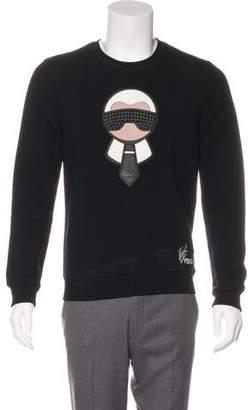 Fendi Karlito Wool Sweatshirt