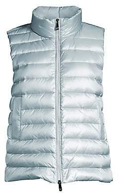 Peserico Women's Nylon Down Puffer Vest