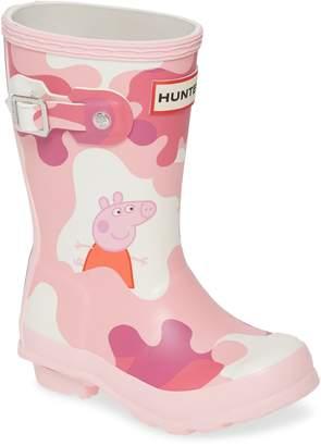 Hunter Peppa Muddy Puddles Rain Boot