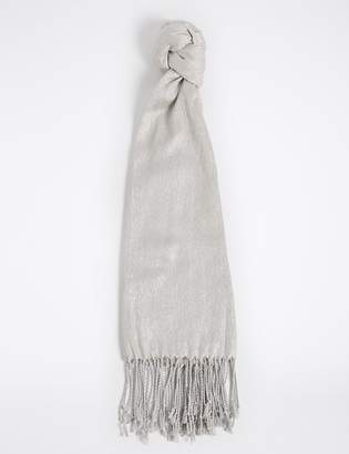 ee2591d63 M&S CollectionMarks and Spencer Sparkle Pashminetta Scarf