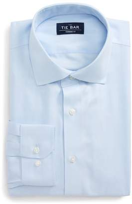 The Tie Bar Standard Fit Herringbone Dress Shirt