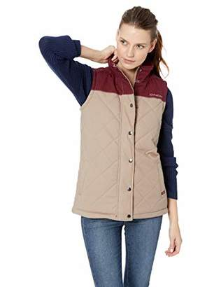Cinch Women's Canvas Quilted Polyfill Vest