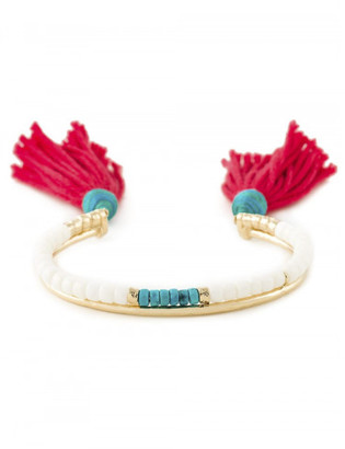 Aurelie Bidermann tassel bangle $330 thestylecure.com
