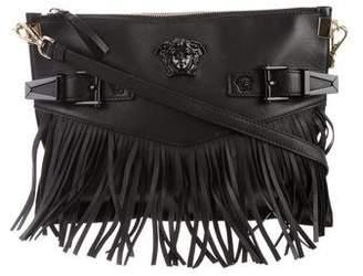Versace Embellished Medusa Zip Pouch