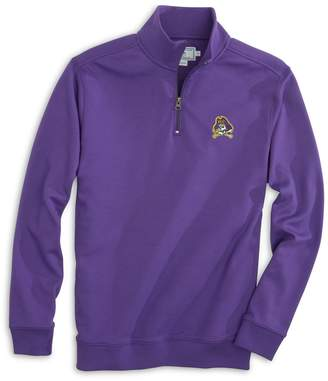 Southern Tide Gameday Skipjack 1/4 Zip Pullover - East Carolina University