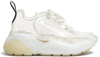 Stella McCartney Eclypse Pvc Low Top Trainers - Womens - White