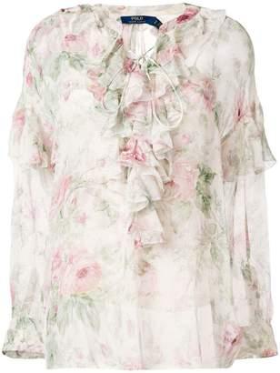 Polo Ralph Lauren floral print blouse