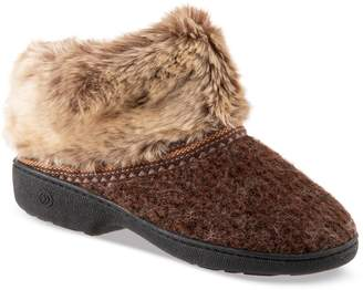 a5d0b68cb91081 Isotoner Women s Haley Sweater Knit Boot Slippers