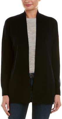 Vince Dropped-Shoulder Wool & Cashmere-Blend Cardigan